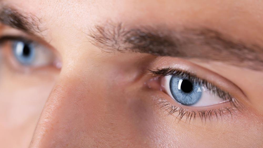 Os olhos claros são mais sensíveis?