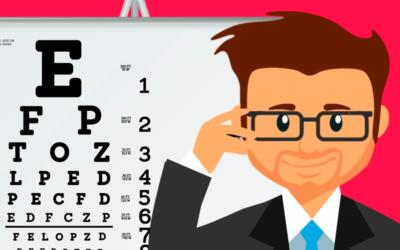 Sete de maio é o dia do oftalmologista